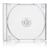 Pack 25 Unidades Caja Cd Acrilica Transparente. 10.4 Mm