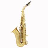Lade  Golden Brass Carve Patrn Bb Doblado Althorne Saxofn