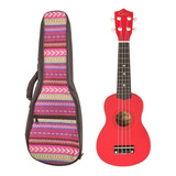 Ukelele Soprano Epic Colores Con Funda