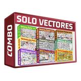 Combo Solo Vectores 10 Packs De Diseños Vectorizados