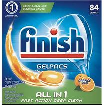 Termine Todo En 1 Gelpacs Naranja, 84ct, Tabletas Deterge...