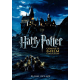 Saga Harry Potter Completa Dvd Latino 8 Peliculas
