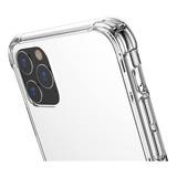 Carcasa Transparente Reforzada iPhone 11 + Lamina De Vidrio