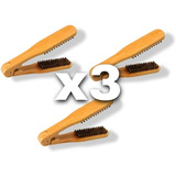 3 X Cepillos Para Alisado De Cabello