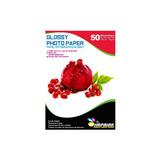 Papel Adhesivo Glossy Brillante Antioxido A3/135g/50 Hojas