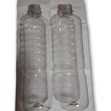 Botella Pet 900 Cc Con Tapa Pack 2 Unidad