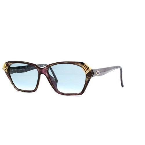 Gafas Christian Dior Púrpura Auténtico Vintage Mujer Gafas 5126482f94f7