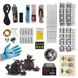 Tattoo Kit Para Tatuador Principiante | 2 Máquinas  R5709