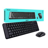 Logitech Wireless Combo Mk220 Teclado Y Mouse