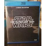 Saga Star Wars Episode 1 Al 8 + Rogue One + Solo Bluray Bd25