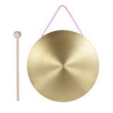 22cm Mano Gong Platillos Latón Cobre Capilla Ópera Percusión