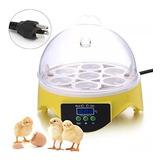Incubadora Mini 7 Huevos Digital 220v  Pollo Ave