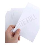 Papel Adhesivo Sin Brillo Carta Todo Tipo Impresora Etiqueta