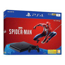 Consola Ps4 Slim 1tb + Spider-man - Bestmart