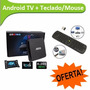 Android Tv + Teclado/mouse Inalambrico Super Pack