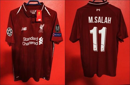 0e7ca1b23d5 Camiseta Liverpool Talla L  11 Salah