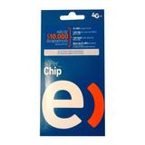 Chip Entel A $450, $1.000 Carga+100mb+40min, 100 Unidades