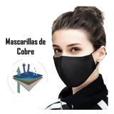 Mascarilla De Cobre Reutilizable Lavable  Protege99.9%