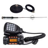 Kit Radio Transmisor Auto Antena + Base  Vhf Banda/ Fernapet