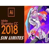 Adobe Ilustrador 2.018 Windows + Video Tutorial De Guia