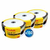Pack 150 Unidades Cd Imprimible Kodak 52x 700mb 80 Min