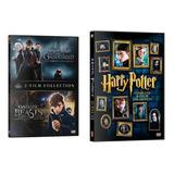 Harry Potter + Fantastic Beast ,dvd,latino