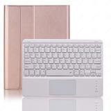 Funda Con Teclado Bluetooth Para iPad Air 10.5 Oro Rosa