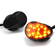 Intermitentes Led Moto - Oval Panal -  Yamaha R3