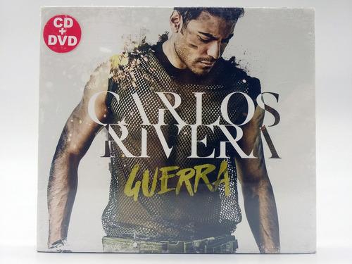 Carlos Rivera  Guerra (cd + Dvd) , Sellado, Súper Oferta