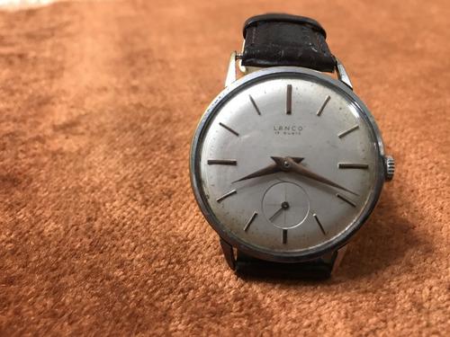 542e8ed4cbe1 Antiguo Reloj Lanco Suizo 17 Jewels