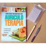 Auriculoterapia Pack: Libro+ Palpador + 600 Semillas+pinza