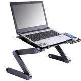 Mesa Para Notebook Cama Ajustable Con Ventilador
