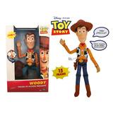 Toy Story Woody Disney Pixar Think Way Con Sonido Parlante