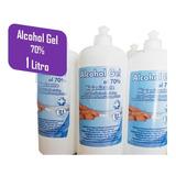 Alcohol Gel Desinfectante Higienizante Antibacterial De Mano