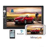Radio Auto 2 Din Mirror Link Bluetooth Video Usb Pantalla