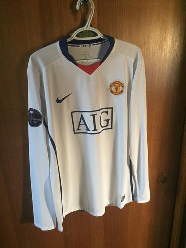 Camiseta Manchester United 2008-2009 Suplente 10e76571a6b