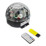 X2 Bola Led Magic Luces Reproductor Mp3 + Pendrive Ml1980