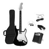Guitarra Eléctrica Stratocaster Y Amplificador 10w Proglobal