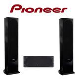 Parlantes Columnas Pioneer Sp-fs52 Y Pioneer Center Sp-c22