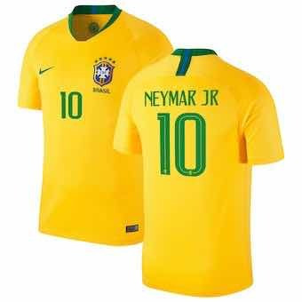 407d90b4ffc Camiseta Brasil  10 Neymar Jr