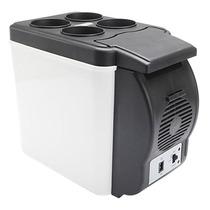 Mini Refrigerador Cooler Para Auto 6 Litros 12v Nevera Porta