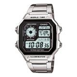 Reloj Hombre Casio Ae-1200whd-1av Digital / Lhua Store