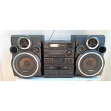 Antiguo Mini Componente Equipo Musical Sony Cassette Y Radio