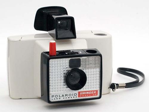 ca037f75c4 Cámara Polaroid Swinger 20 Con Estuche Original