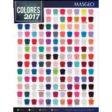 17 Esmaltes Masglo Todos Los Colores
