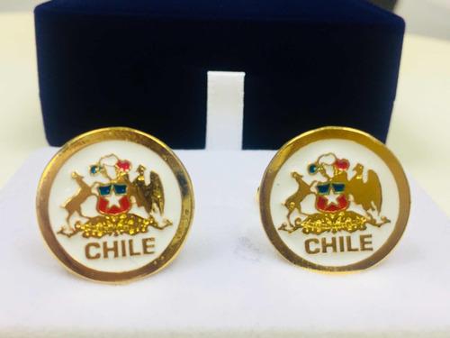 e9f6ad8d7501 Colleras Chilenas Bañadas En Oro De 18 Kilates Encaja