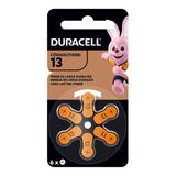 Pilas Duracell Activair 13 Pila Audifonos X 6 /almacencrisol