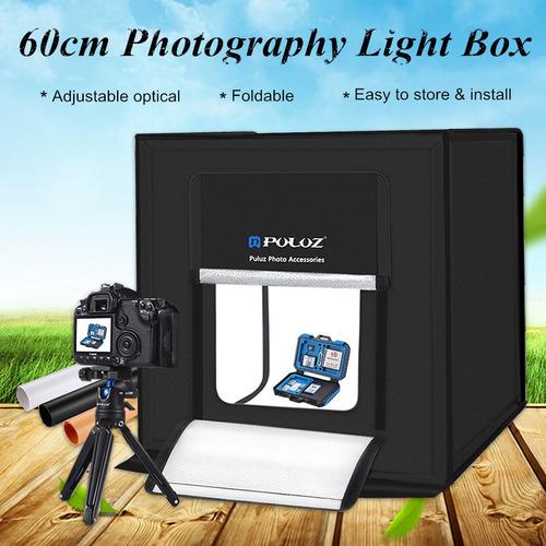 Mini Portátil Photography Studio Box Kit Blanco/negro/naranj