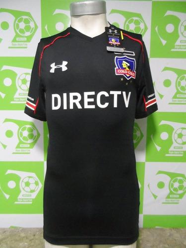 38641a5964ccf Camiseta Colo Colo Visita 2017 Profesional Under Armour Negr