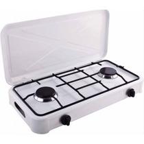 Cocina Cocinilla 2 Platos Con Tapa A Gas + Regulador / Ofc